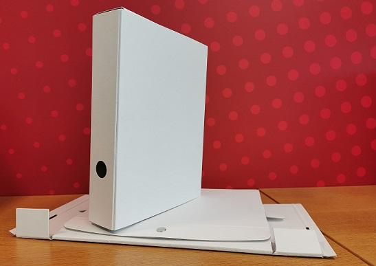 Blanco Archivbox mit Druckknopf
