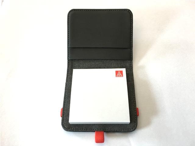 Notizbuch für Haftnotizen