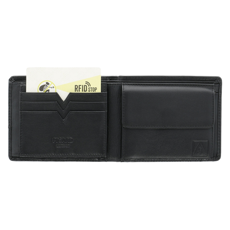Leder-Geldbörse für Herren mit RFID-Schutz