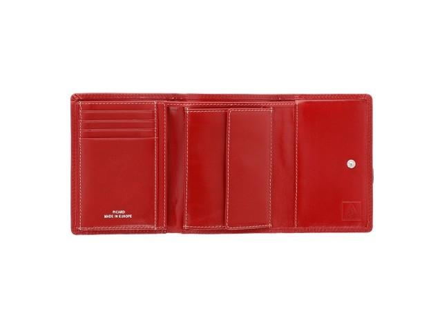 Leder-Geldbörse für Damen mit RFID-Schutz
