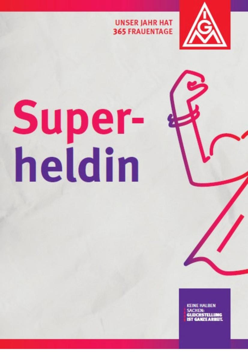Postkarten zur Ansprache von Frauen, 3 Motive: Superheldin, Lieblingskollegin, Danke Powerfrau
