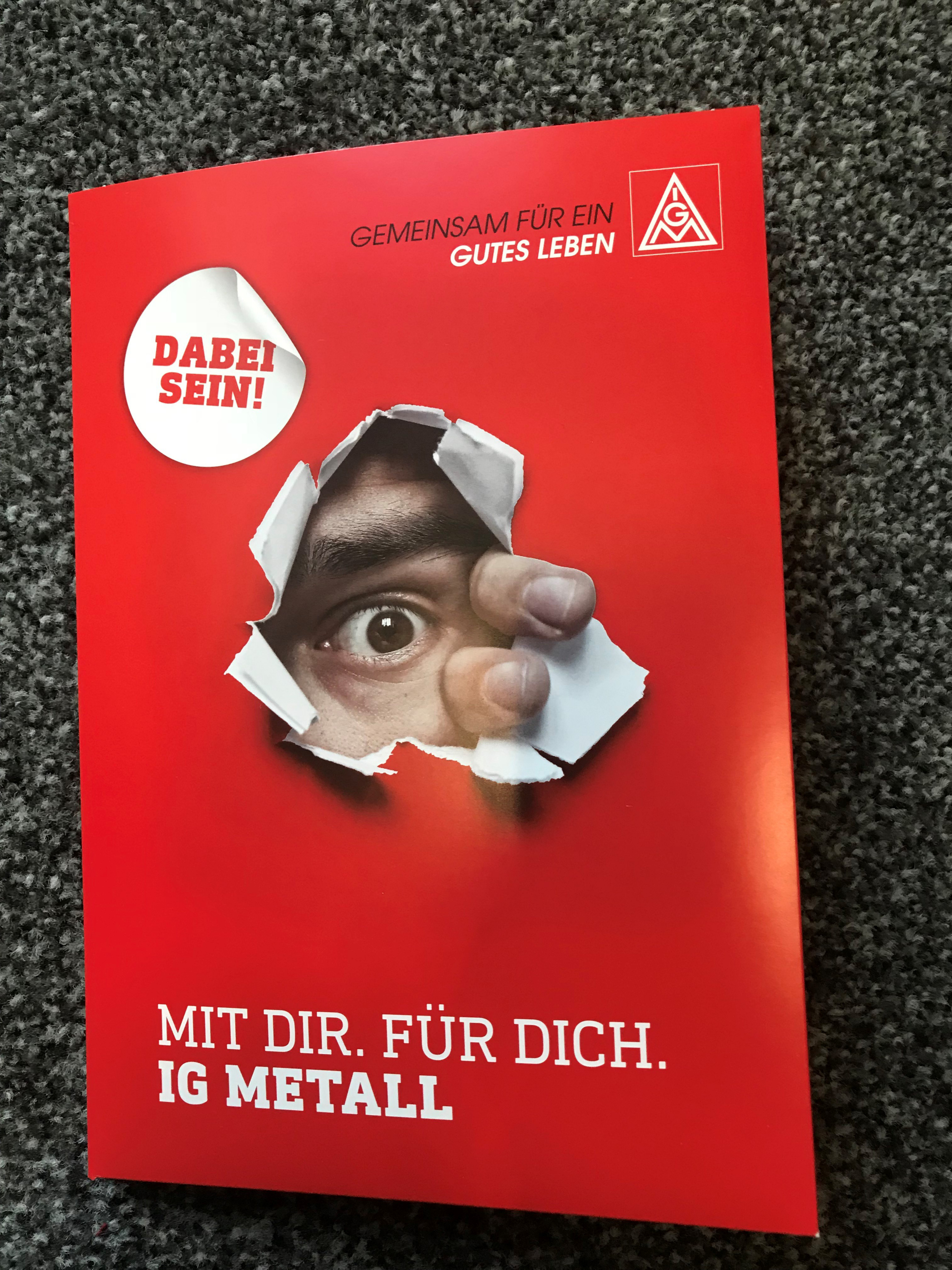 Dialogmappe Mit Dir. Für Dich. IG Metall.