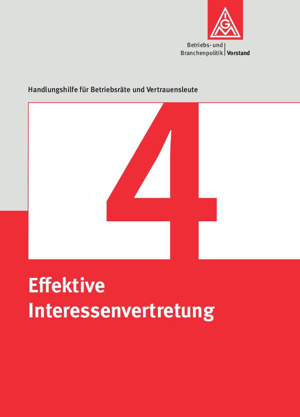 4 Effektive Interessenvertretung
