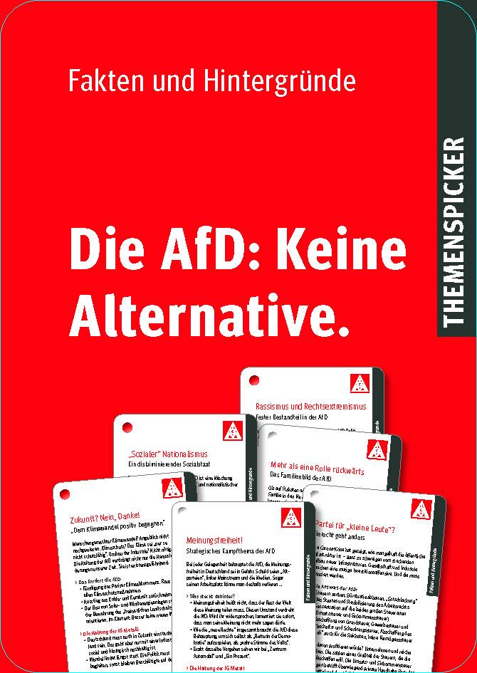 Die AfD: Keine Alternative.